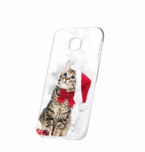 Silikonska maska s motivom mačke za Samsung S8: prozirna