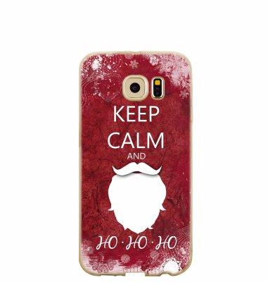"""Silikonska maska  """"Keep calm"""" za Samsung Note 8: prozirna"""