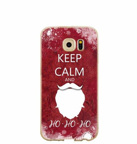 "Silikonska maska ""Keep calm"" za Samsung A3 2017: prozirna"
