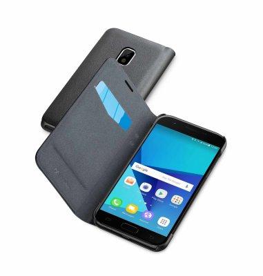 Cellular line preklopna zaštita za uređaj Samsung Galaxy J7 2017: siva