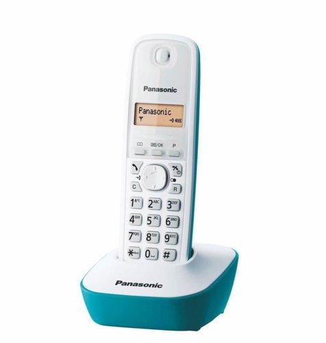 Panasonic dect KX-TG 1611FXC: plavi