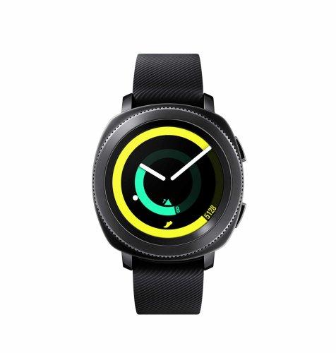 Samsung Gear Sport: crni