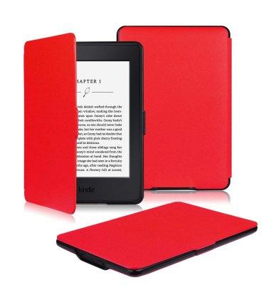 Preklopna maska za Kindle Paperwhite 3 : crvena