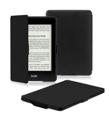 Preklopna maska za Kindle Paperwhite 3 : crna
