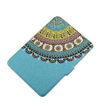 Preklopna maska za Kindle Paperwhite 3 : svijetlo plava orient design