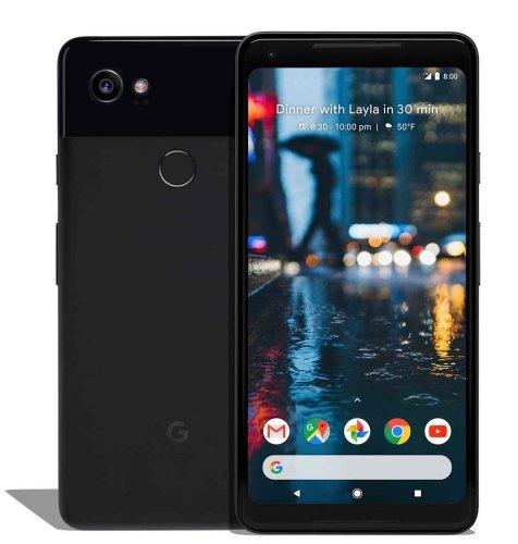 Google Pixel 2 XL: crni