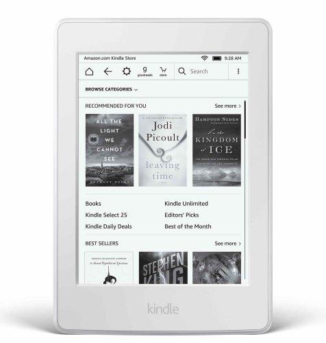 Kindle e-Book Touch čitač (2016 – 8. generacija), WiFi: bijeli