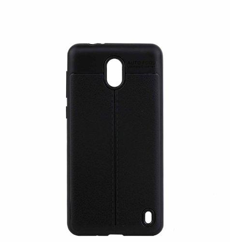 Silikonska maska za Nokia 2 uređaj : crna