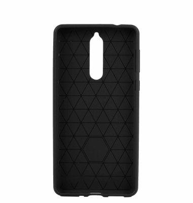 Silikonska maska za Nokia 8 uređaj : crna