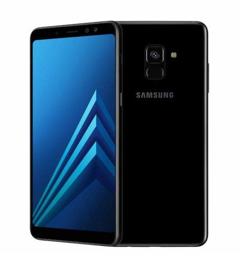 Samsung Galaxy A8 2018: crni