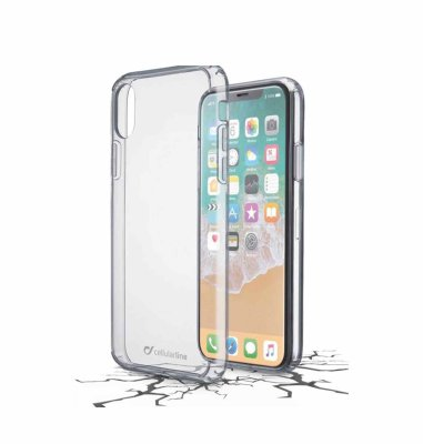 Cellular line plastična zaštita za uređaj iPhone X: prozirna