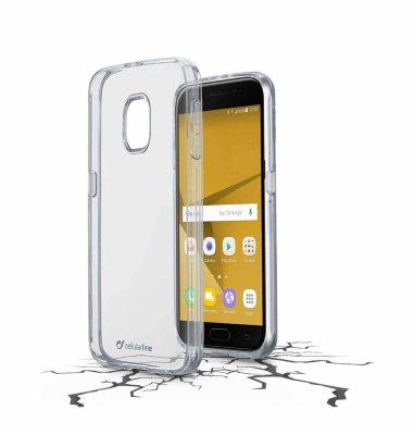 Cellular line plastična zaštita za uređaj Samsung Galaxy J7 2017: prozirna