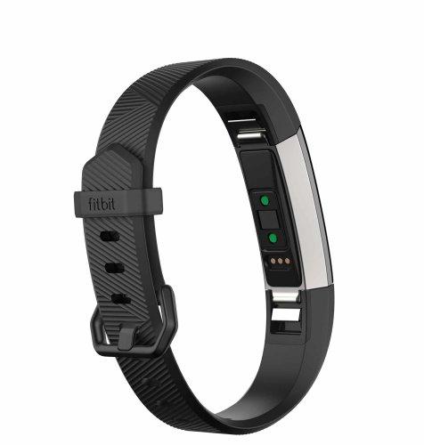 Fitbit Alta HR L: crna