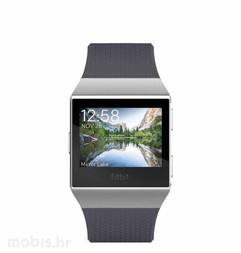 Fitbit Ionic: plavo sivi