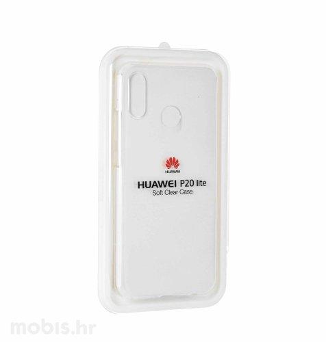 Silikonska maska za Huawei P20 lite: prozirna