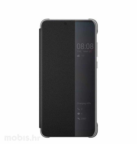 Preklopna maska za Huawei P20 : crna