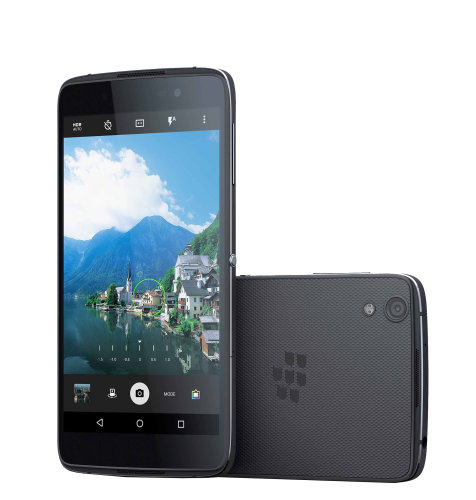 BlackBerry DTEK50 Qwerty: tamno sivi