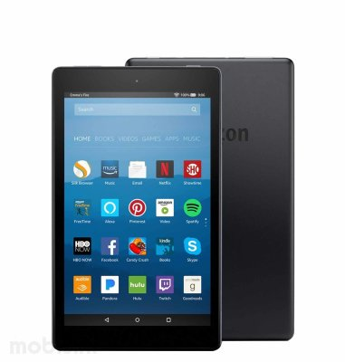 "Tablet Kindle Fire Amazon Alexa 8"", 16 GB: crni"
