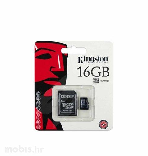 Kingston memorijska microSD 16GB: HC CLASS 10 UHS + 1AD TS