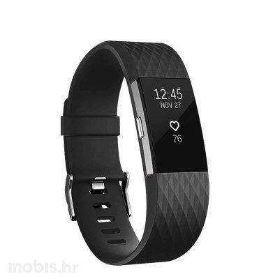 Fitbit Charge 2 specijalna boja S: siva