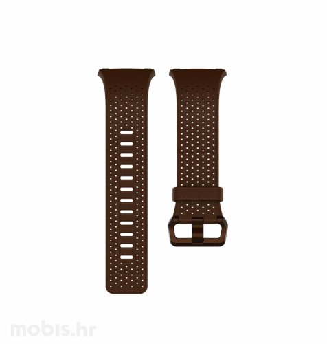 Fitbit Ionic kožna narukvica  L: smeđa