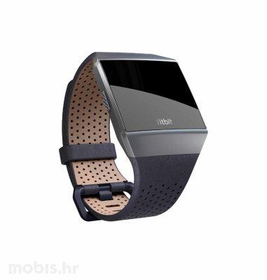 Fitbit Ionic kožna narukvica  L:  plava