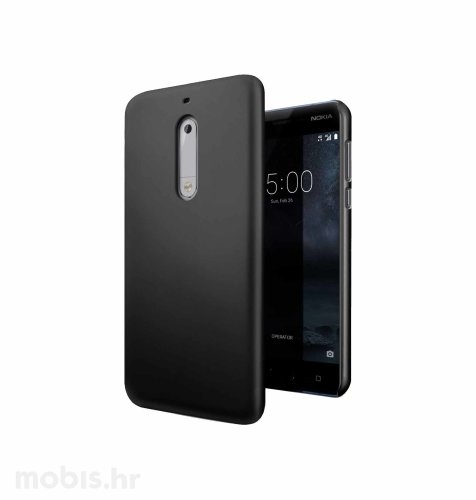 JCM silikonska maskica za Nokia 5 uređaj: crna