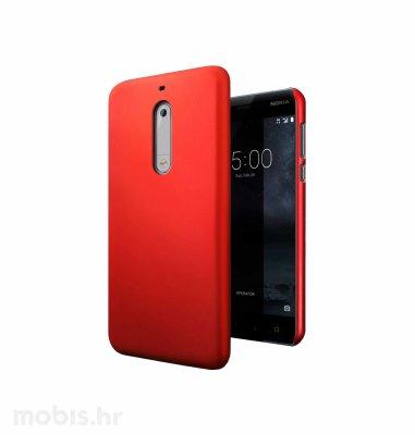JCM silikonska maskica za Nokia 5 uređaj: crvena