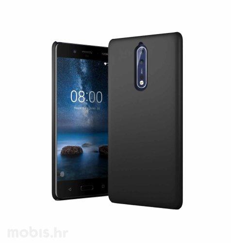 JCM silikonska maskica za Nokia 8 uređaj: crna