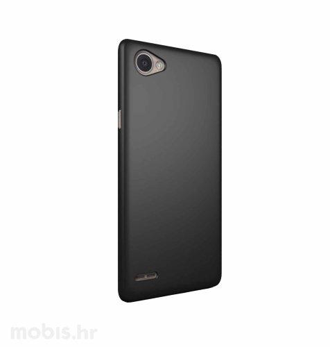 JCM silikonska maskica (soft) za LG Q6 uređaj: crna