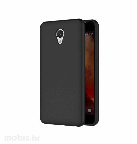 JCM silikonska maskica (soft) za Meizu M5 Note uređaj: crna