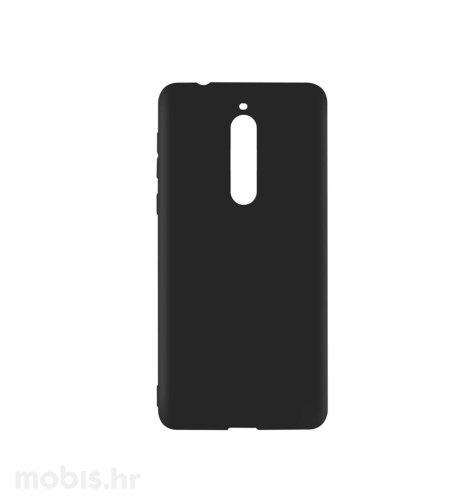 JCM silikonska maskica (soft) za Nokia 5 uređaj: crna