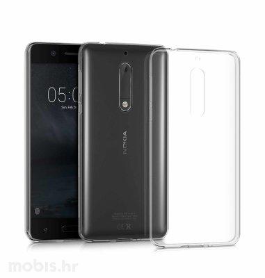 JCM silikonska maskica za Nokia 5 uređaj: prozirna
