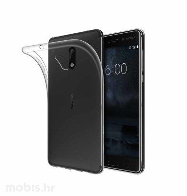 JCM silikonska maskica za Nokia 6 uređaj: prozirna