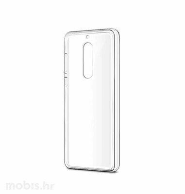 JCM silikonska maskica za Nokia 8 uređaj: prozirna