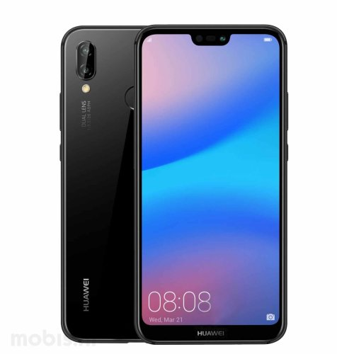 OUTLET: Huawei P20 lite: crni