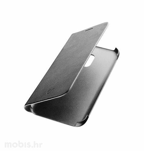 Preklopna maskica za uređaj Samsung Galaxy J3 2017: crna
