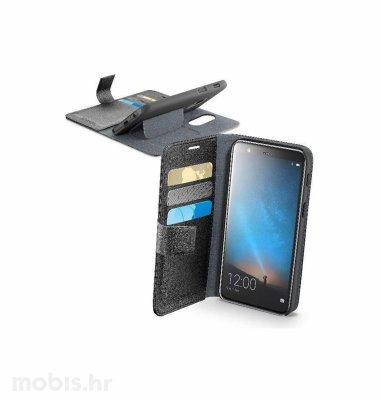 Preklopna maskica za uređaj Huawei Mate 10 lite: crna