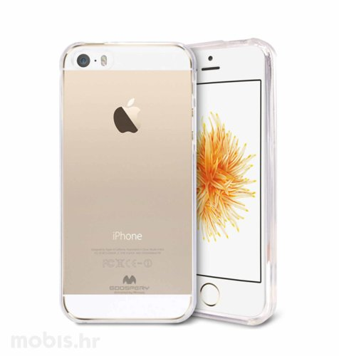 """Zaštita """"Mercury"""" za Apple iPhone 5/5S: prozirna"""