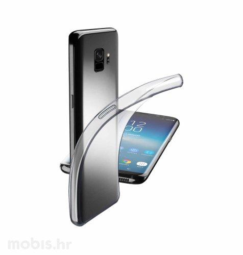 Cellular Line silikonska zaštita za Samsung Galaxy S9: prozirna