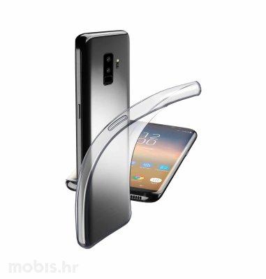 Cellular Line silikonska zaštita za Samsung Galaxy S9+: prozirna