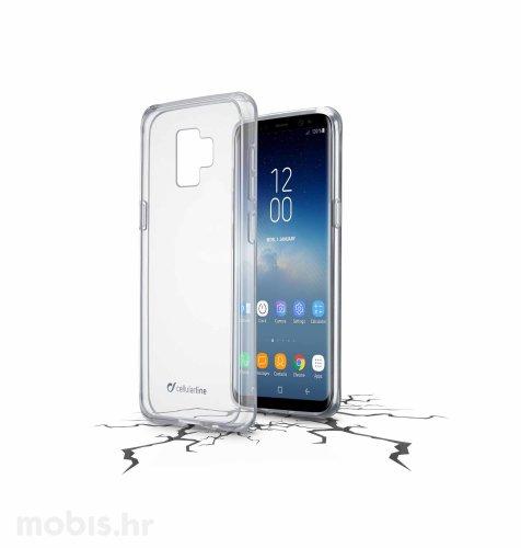 Cellular Line plastična zaštita za Samsung Galaxy S9: prozirna
