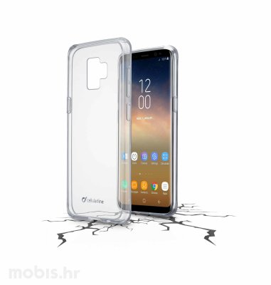 Cellular Line plastična zaštita za Samsung Galaxy S9+: prozirna
