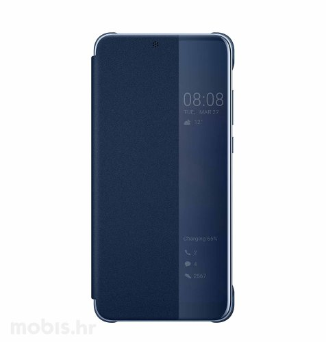 Preklopna maska za Huawei P20 lite: plava