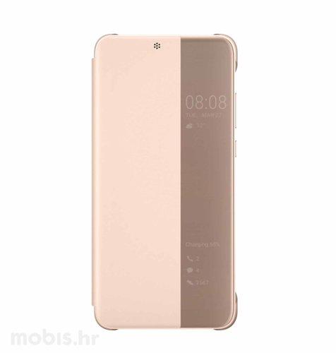 Preklopna maska za Huawei P20 lite: roza
