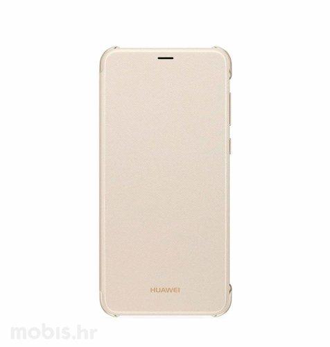 Preklopna maska za Huawei P Smart: zlatna