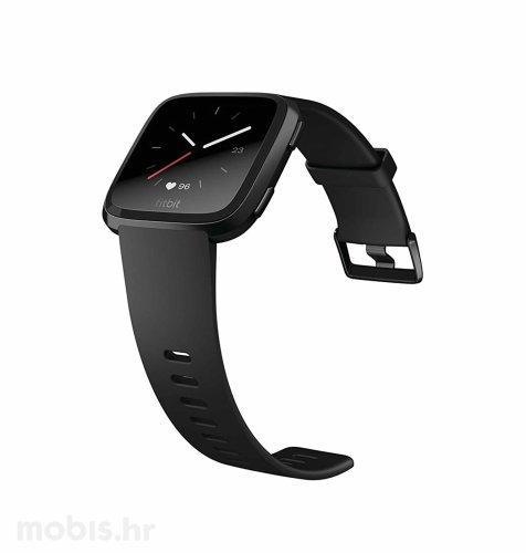 Fitbit Versa (NFC): crna (crni remen)