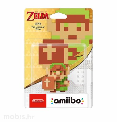 Igra Amiibo Link 8-bit Style