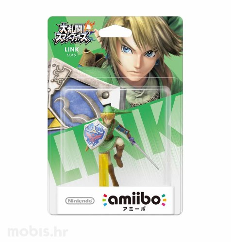 Igra Amiibo Super Smash Bros Link no 5