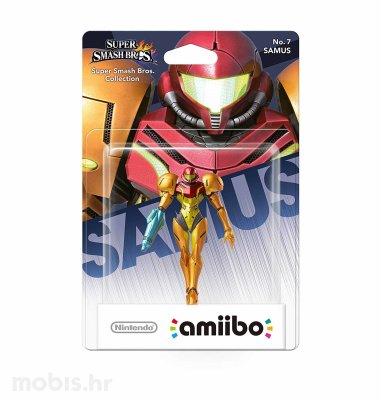 Igra Amiibo Super Smash Bros Samus no 7